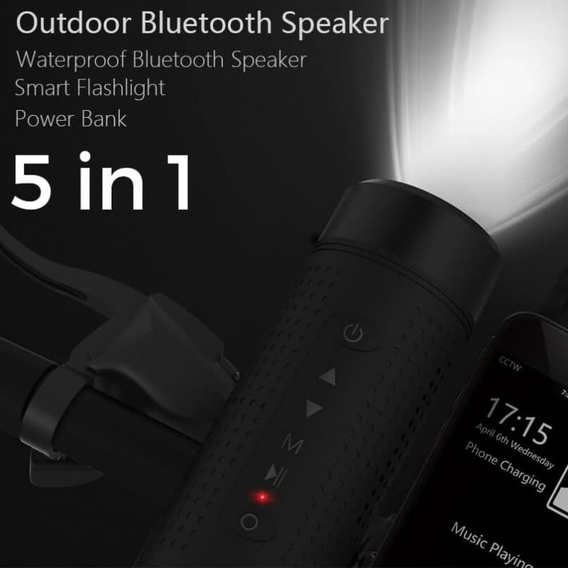 outdoor speaker with charger