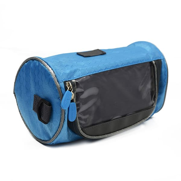 touch screen bag for mobile blue