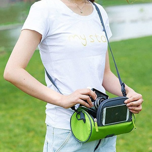touch screen bag for mobile green