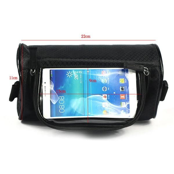 touch screen bag for mobile navy blue
