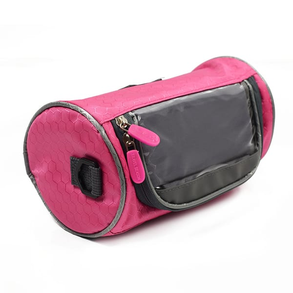 touch screen bag for mobile pink