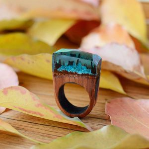 wooden seceret ring