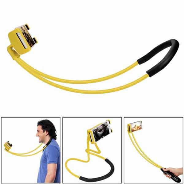 universal phone holder yellow