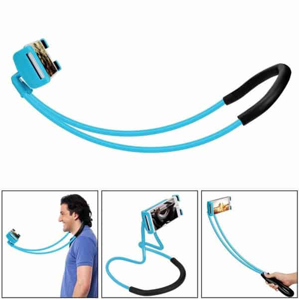 universal phone holder blue