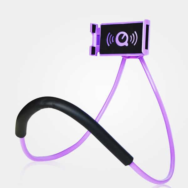 universal phone holder purple