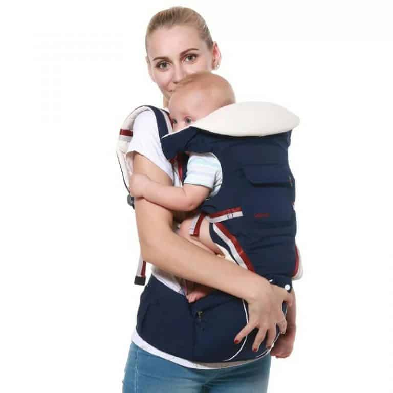 Luxury 9 in 1 Baby Carrier Backpack photo review